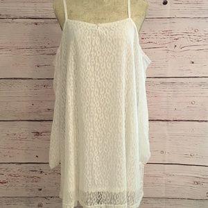 Ivory Off Shoulder Dress
